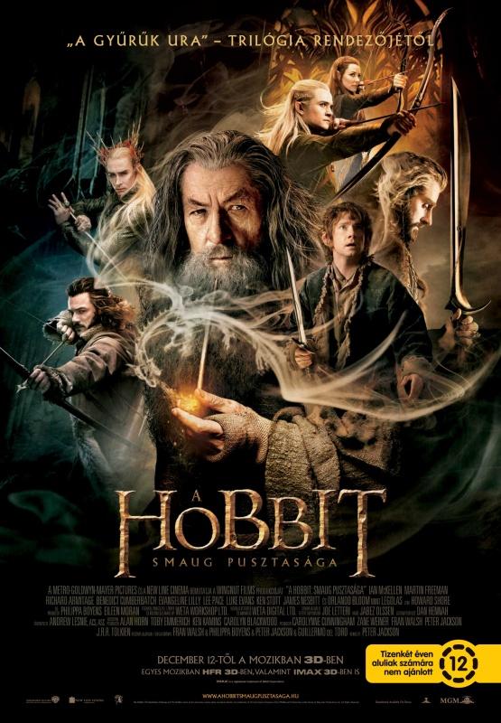 A hobbit - Smaug pusztasága-The Hobbit The Desolation of Smaug poszter