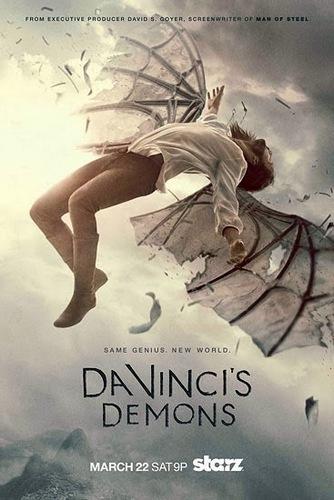 Da Vinci Démonai - Da-Vincis-Demons-season-2-2014-poster